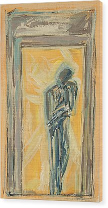 Doorway 2009 Wood Print by Thomas Griffith