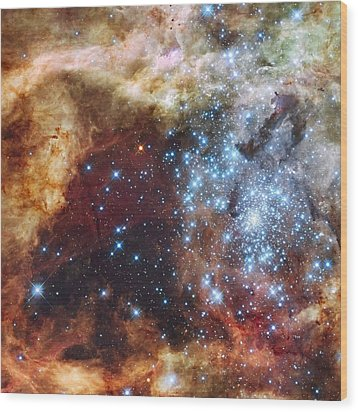 Doradus Nebula Wood Print by Barry Jones