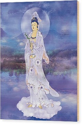 Wood Print featuring the photograph Doro Guanyin by Lanjee Chee