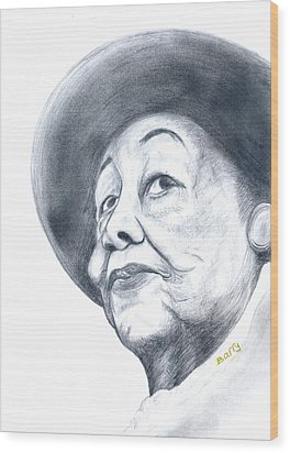 Dorothy Height Wood Print