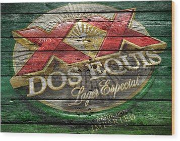 Dos Equis Wood Print by Joe Hamilton