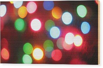Dots Nice Wood Print by James Hammen