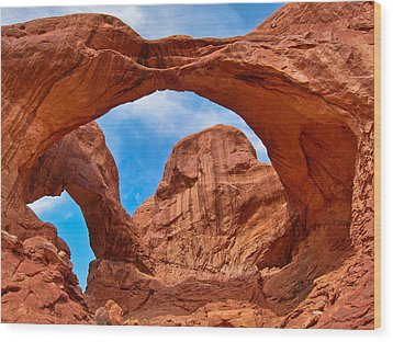Double Arch Goodness Wood Print