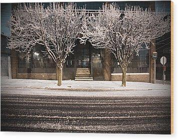 Doubletree Wood Print by Scott Moore