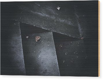 Doubt Wood Print by Odd Jeppesen