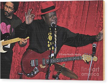 Doug Lewis And Norman Sylvester Wood Print by Tonia Noelle