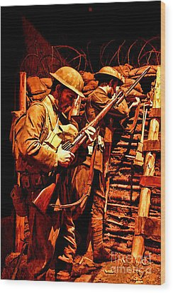 Doughboys  Wood Print by Tommy Anderson