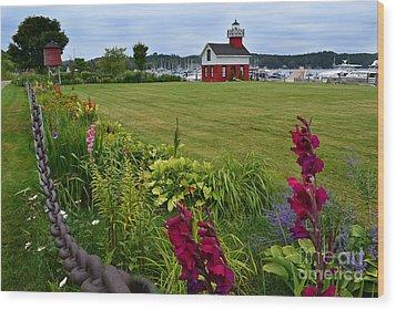 Douglas Lighthouse Water Tower Wood Print