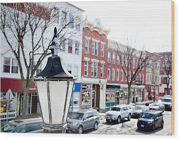 Wood Print featuring the photograph Downtown Brockport I by Courtney Webster