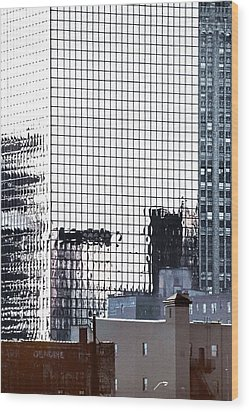 Downtown Newark Nj Wood Print by Kellice Swaggerty