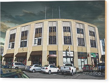 Downtown Pomona - 02 Wood Print by Gregory Dyer