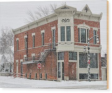 Downtown Whitehouse  7031 Wood Print by Jack Schultz