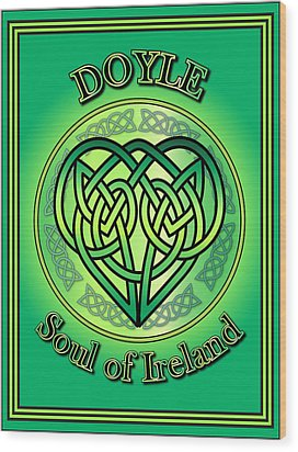 Doyle Soul Of Ireland Wood Print by Ireland Calling