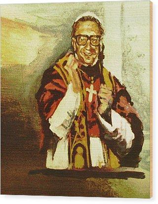 Dr. John M. Pope Wood Print