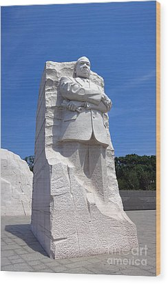 Dr Martin Luther King Memorial Wood Print by Olivier Le Queinec