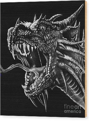 Dragon Wood Print by Bill Richards