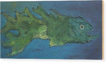 Dragon Fish Wood Print