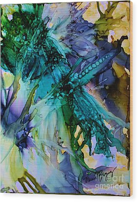 Dragonfly Dreamin Wood Print