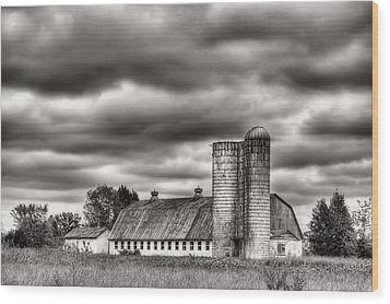 Dramatic Skies  Wood Print by JC Findley