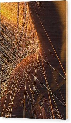 Dreadline Wood Print by Adam Chilson