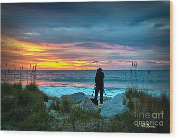 Wood Print featuring the photograph Dream Big Dreams In Color by Phil Mancuso
