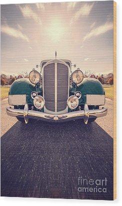 Dream Car Wood Print by Edward Fielding