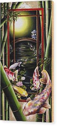 Dream Wood Print by Hiroko Sakai