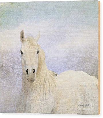 Dream Horse Wood Print by Karen Slagle
