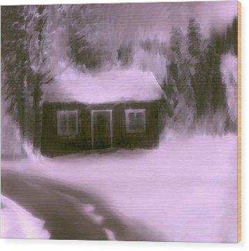 Dream House  C# 43 Wood Print by Viggo Mortensen