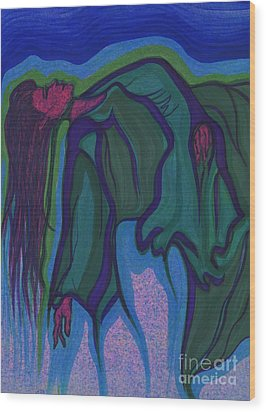 Dream In Color 1 By Jrr Wood Print by First Star Art