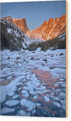 Dream Lake - Rocky Mountain National Park Wood Print