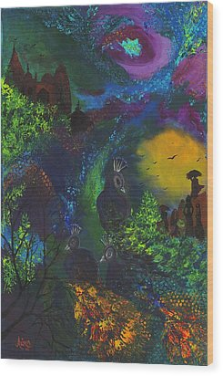 Dream Of India Wood Print by Alika Kumar