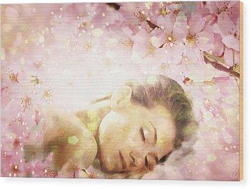 Dream Of Spring Wood Print by Gun Legler