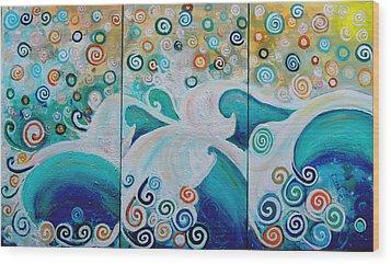 Dream Of The Ocean Wood Print