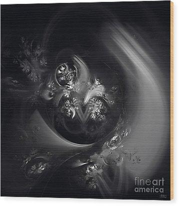 Wood Print featuring the digital art Dream State by Arlene Sundby