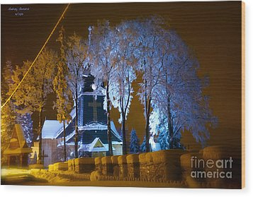 Dream - Tatra Mountains 2013 Wood Print by  Andrzej Goszcz