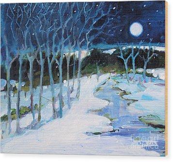 Dream Winter Wood Print