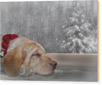 Dreamin' Of A White Christmas 2 Wood Print by Lori Deiter
