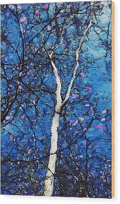 Wood Print featuring the digital art Dreaming Of Spring by David Lane
