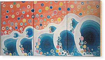 Dreaming Of The Ocean Wood Print