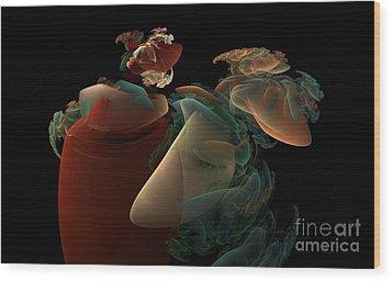 Dreaming Wood Print by Peter R Nicholls