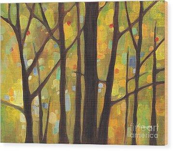 Dreaming Trees 1 Wood Print