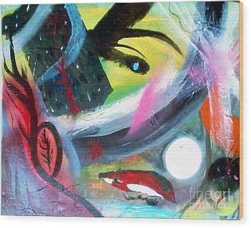 Dreams Wood Print by Yul Olaivar