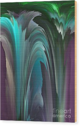 Dreamscape Wood Print by Patricia Kay