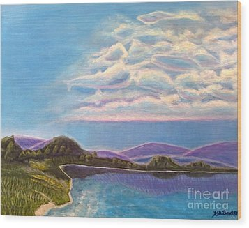 Dreamscapes Wood Print by Kimberlee Baxter