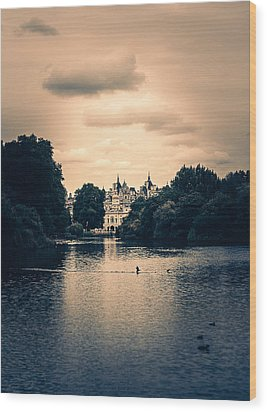 Dreamy Palace Wood Print by Lenny Carter
