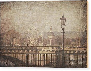Dresden Wood Print by Jelena Jovanovic