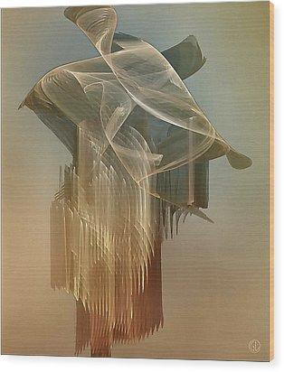 Dress From The 1920th Wood Print by Gun Legler