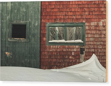 Drifted In Wood Print by Susan Capuano