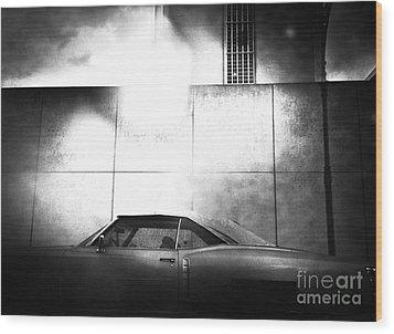 Drive Wood Print by Angelo Merluccio